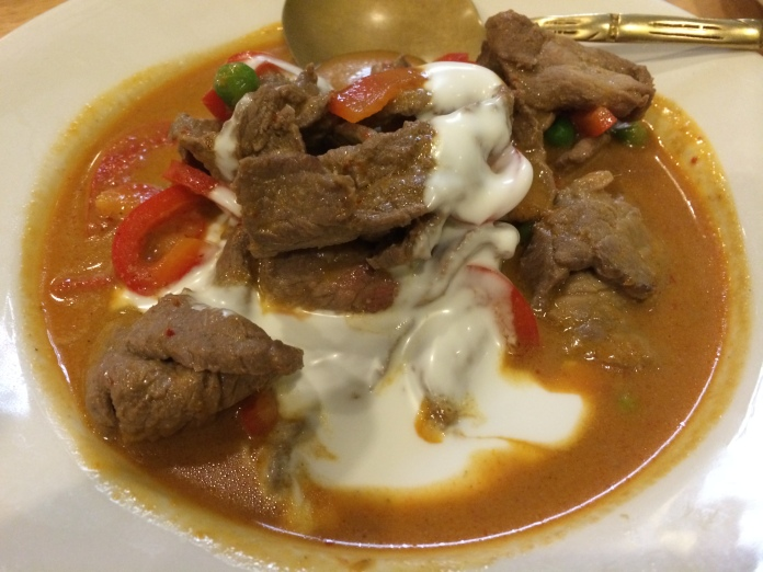 Beef Panang Curry with Beef $21.50