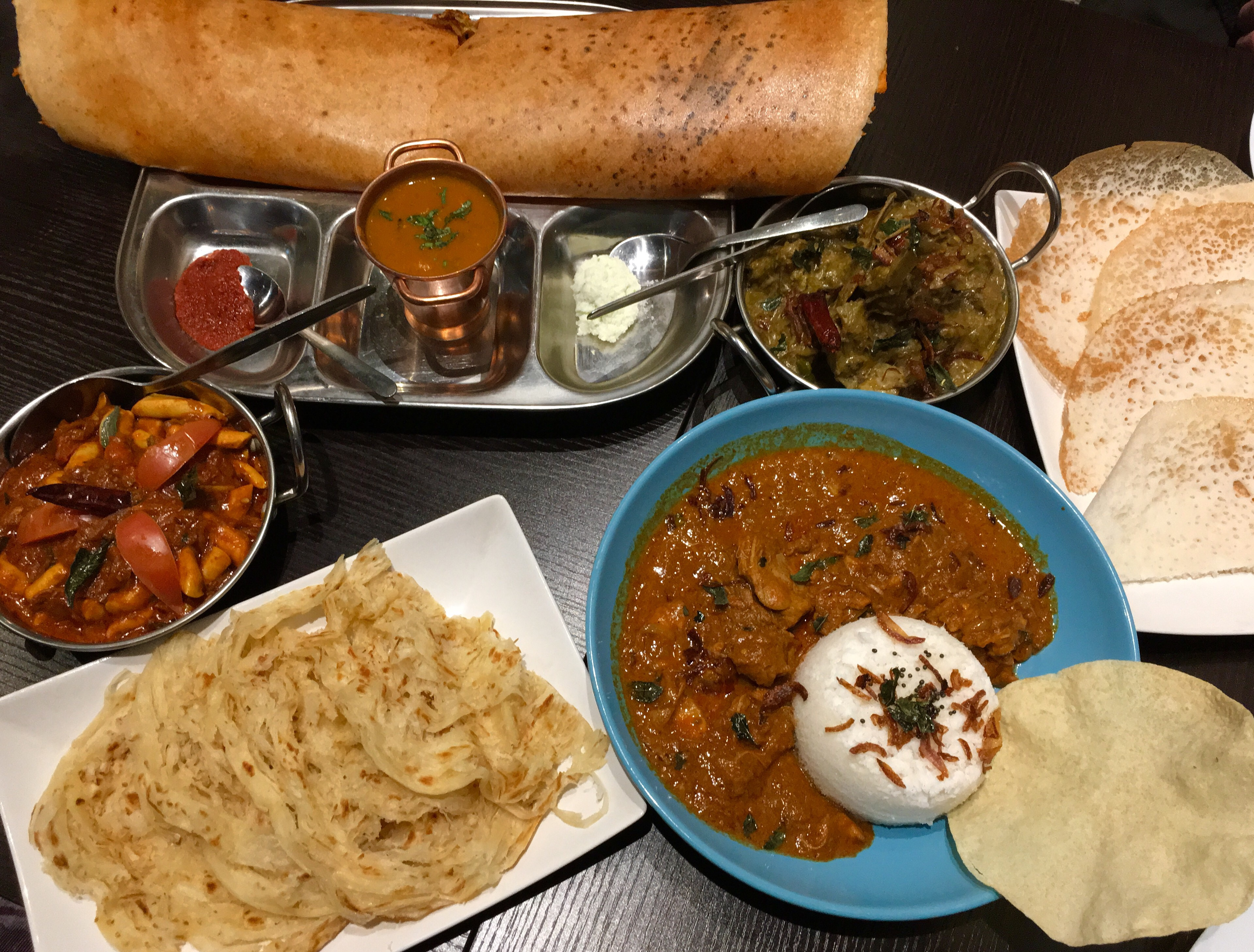 Exploring South Indian dining in Canberra – First stop Binny's Kathitto